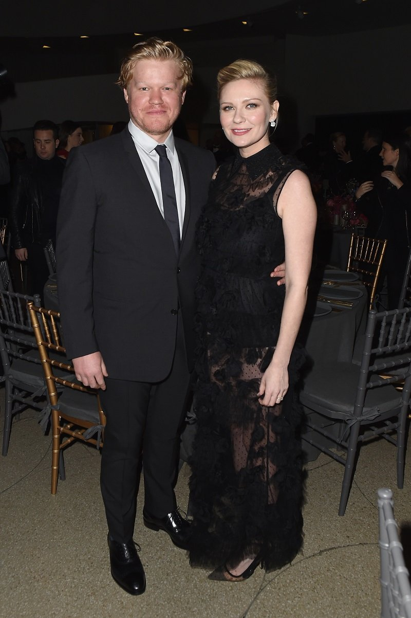 Jesse Plemons and Kirsten Dunst on November 16, 2017 in New York City | Photo: Getty Images