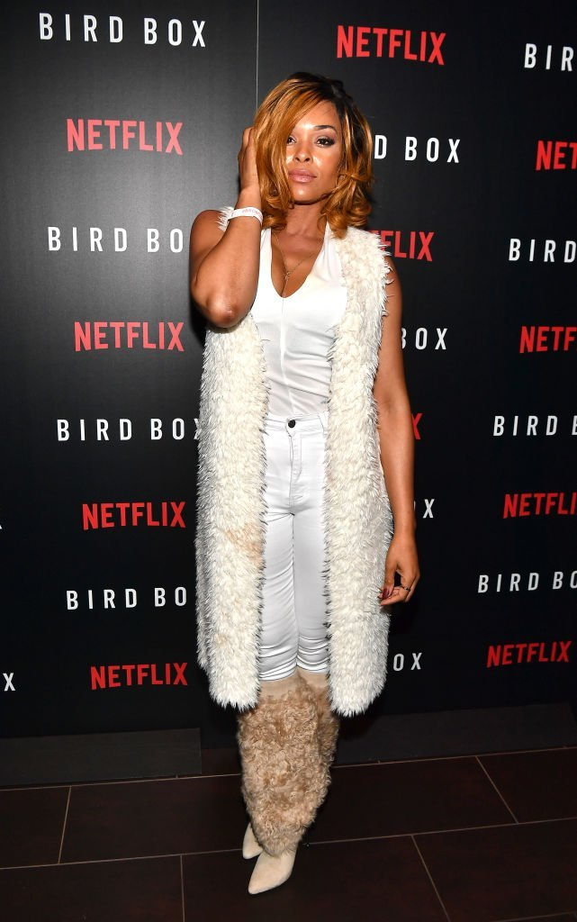 "Demetria McKinney attends the screening of ""Bird Box"" in Atlanta, Georgia on December 19, 2018 | Photo: Getty Images"