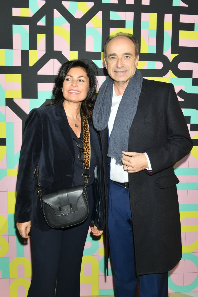Nadia d'Alincourt et Jean-Francois Cope assistent aux Galeries Lafayette Champs-Elysées. | Photo : Getty Images