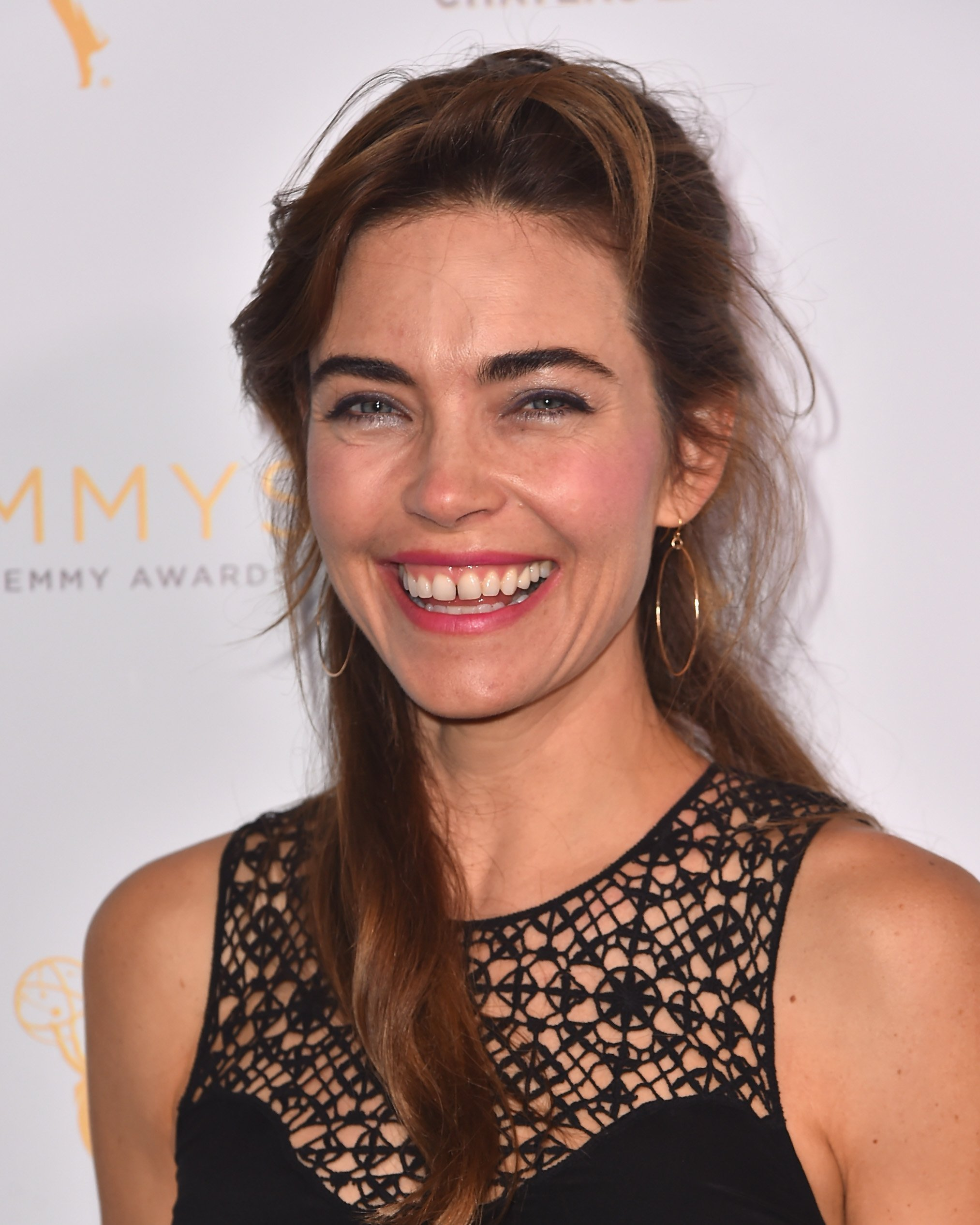 Amelia Heinle attends a cocktail reception hosted by the Academy of Television Arts & Sciences celebrating the Daytime Peer Group. | Source: Getty Images