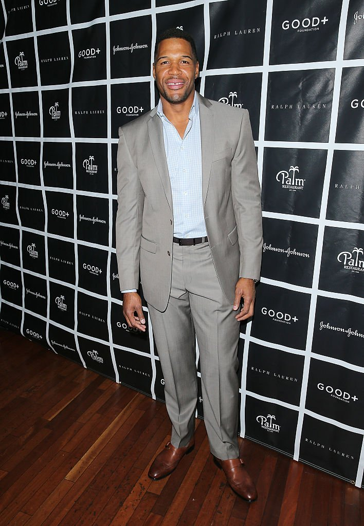 GOOD+ Fatherhood Leadership Council member Michael Strahan attends the 2016 Foundation Good+ New York Fatherhood Luncheon at The Palm Tribeca  | Getty Images