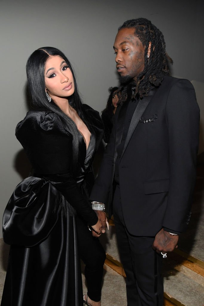 Cardi B and Offset attend Sean Combs' 50th birthday bash in December 2019 | Photo: Getty Images