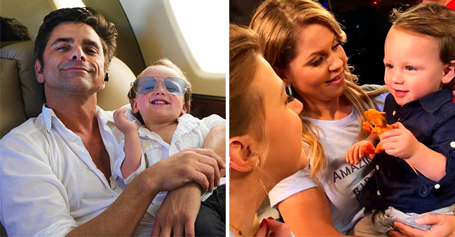 John Stamos' Son Billy Surprises Actors on 'Fuller House' Set