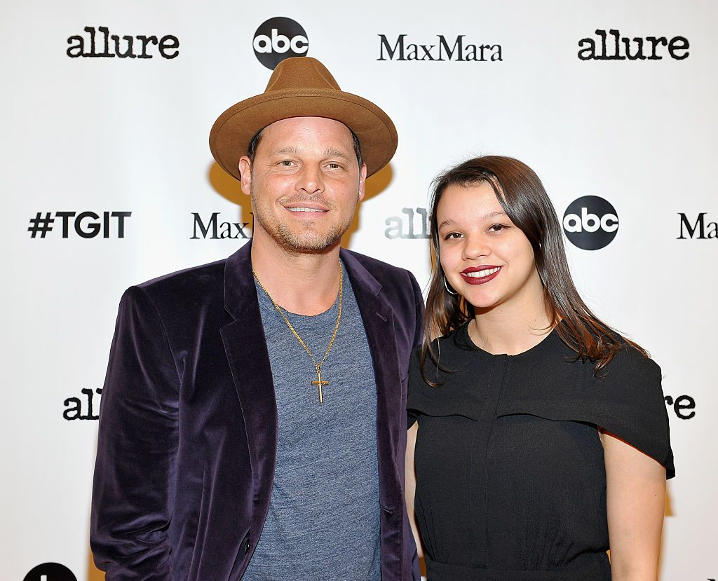 Justin Chambers and Isabella Chambers attend 'MaxMara & Allure Celebrate ABC's #TGIT' at MaxMara on November 14, 2015 in Beverly Hills, California | Photo: Getty Images