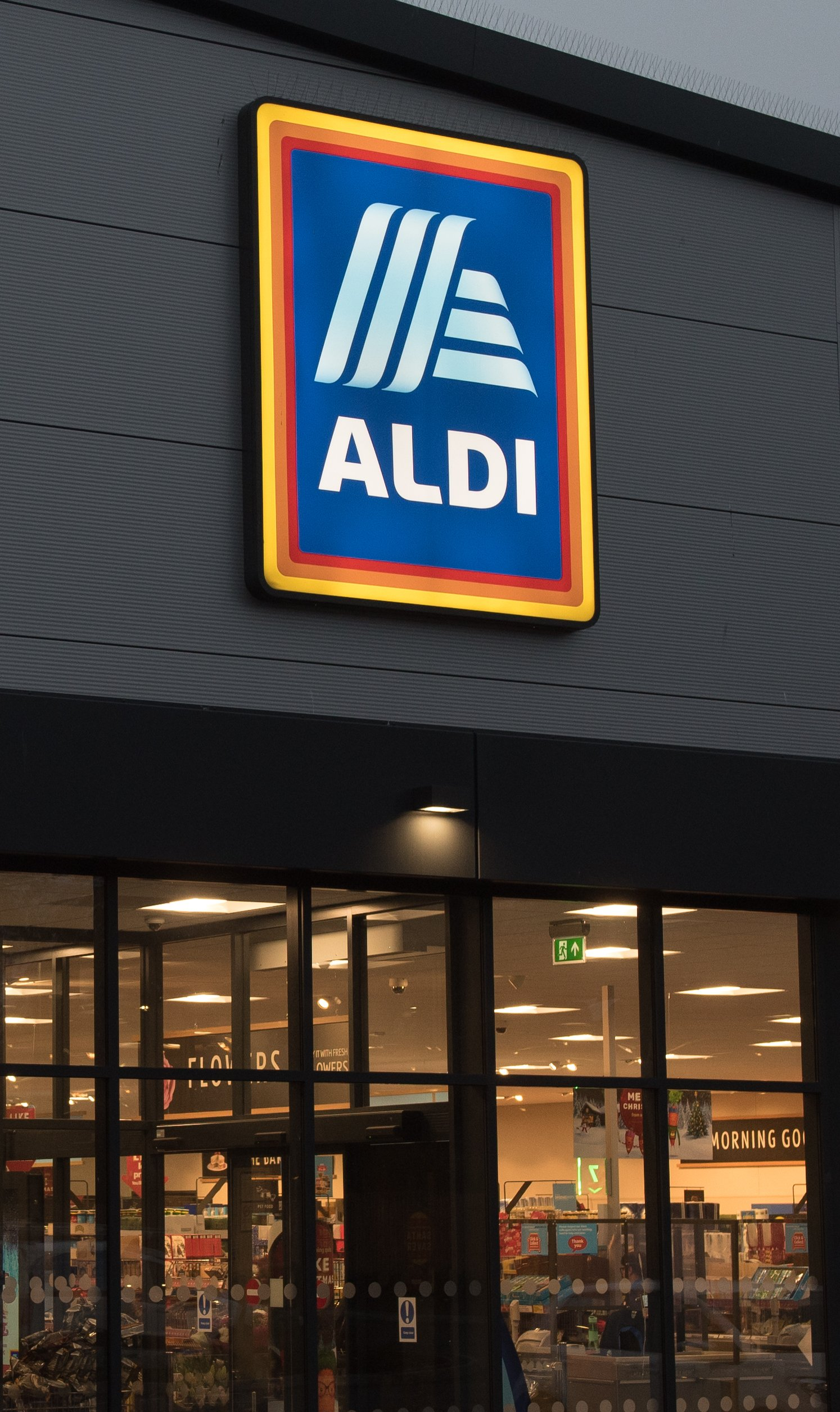 A view of one of the thousands of Aldi Supermarkets present in many countries around the world. | Photo: Getty Images.