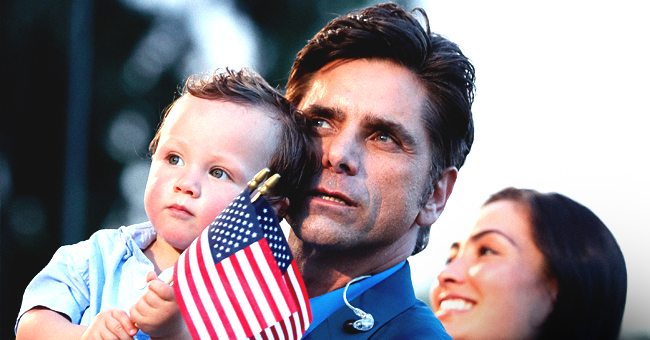John Stamos Spotted with Wife Caitlin and 1-Year-Old Son While Preparing for 'A Capitol Fourth' (Photo)