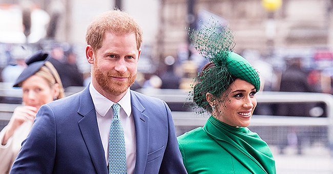 Harry Allegedly Supports Meghan Markle as He Sports Same Shade of Green on Commonwealth Day