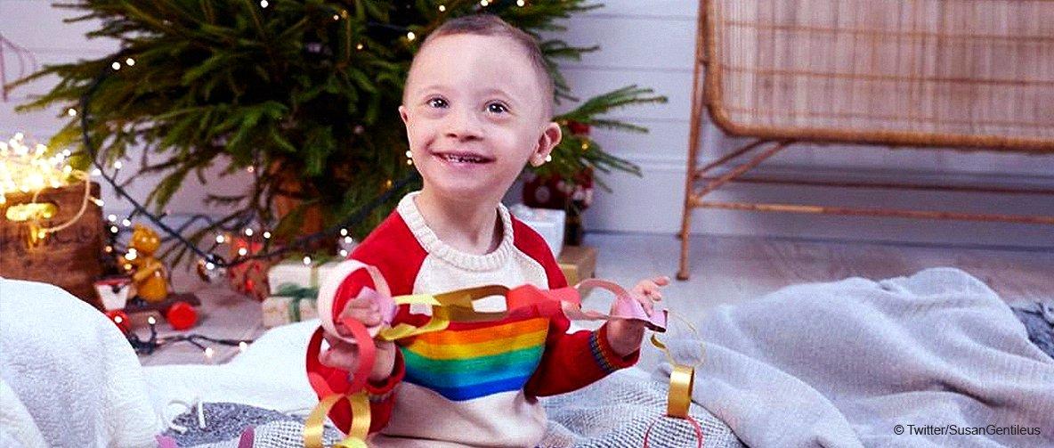 Ce petit garçon surnommé Smiley Riley ne laisse pas le syndrome de Down prendre le dessus sur sa vie et est devenu un modèle adorable