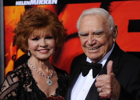 Tova and Ernest Borgnine on October 11, 2010 in Hollywood, California | Source: Getty Images