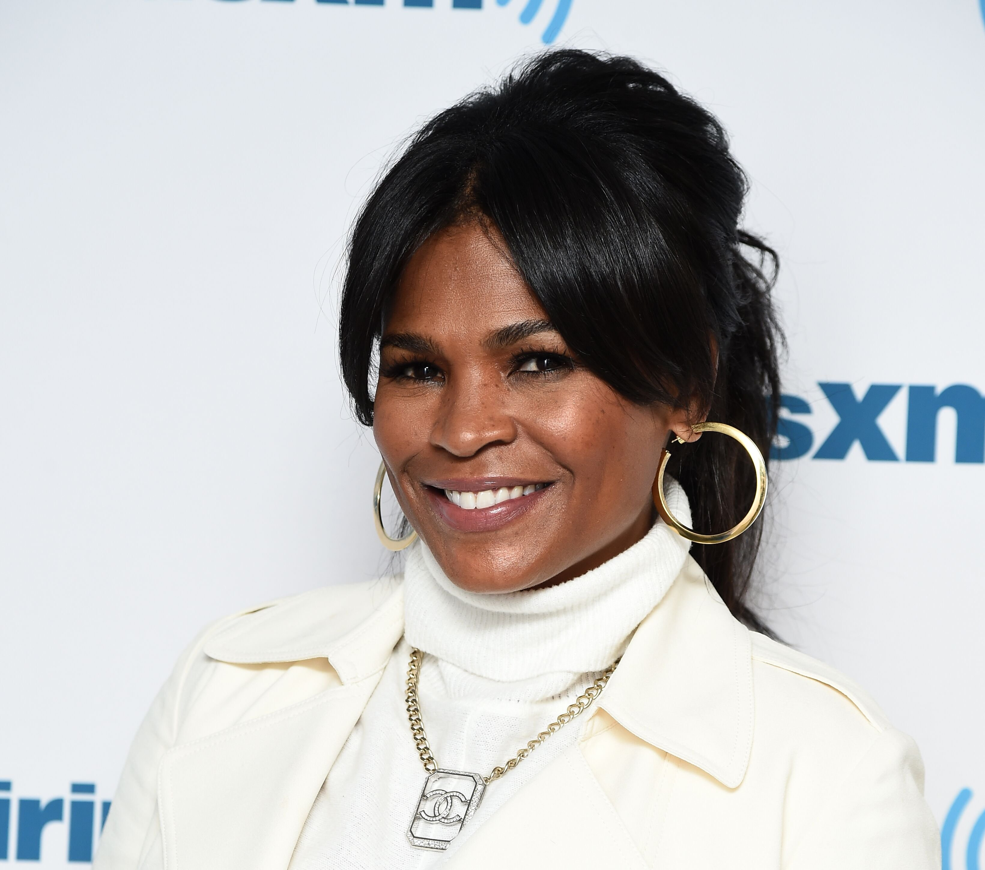 Actress Nia Long visits the SiriusXM Studios on March 19, 2018 | Photo: Getty Images