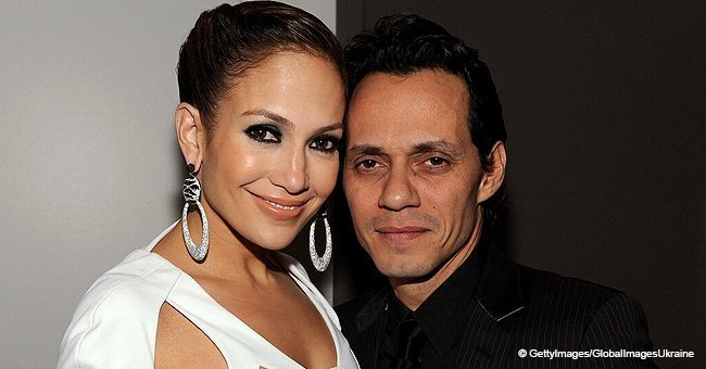 Rare 'throwback photo' of Jennifer Lopez and Marc Anthony's twins