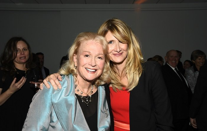 Laura Dern and mom I Image: Getty Images