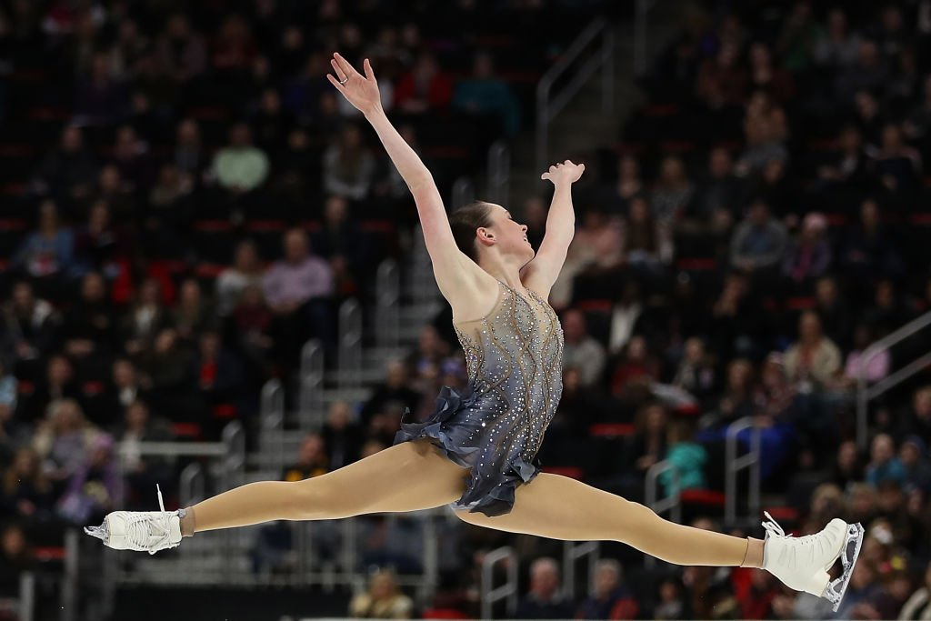 Mariah Bell competes during the 2019 U.S. Figure Skating Championships | Photo: Getty Images