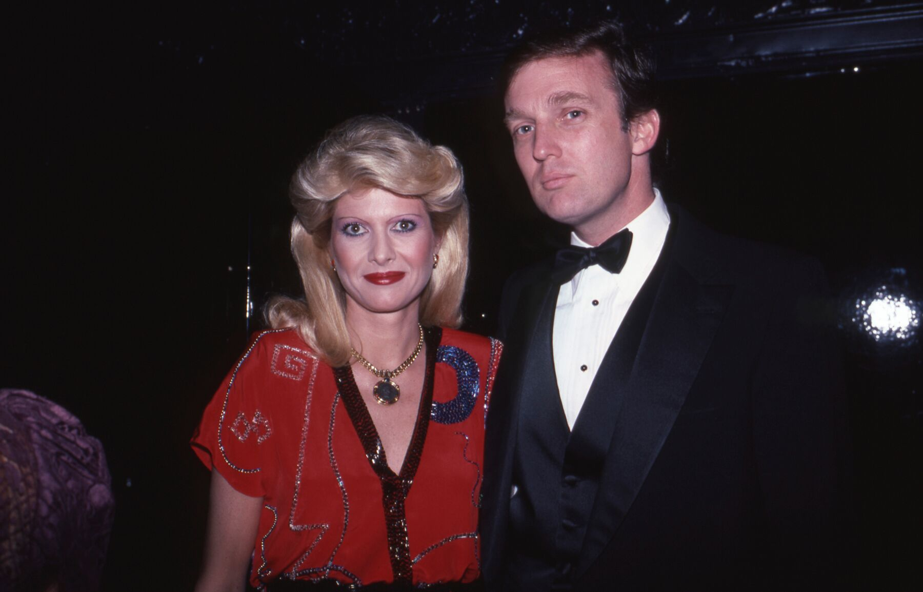 Donald and Ivana Trump. l Image: Getty Images.