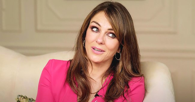 Here's How Elizabeth Hurley, 55, Says She Attempts to Keep Her Spirits up Amid Lockdown
