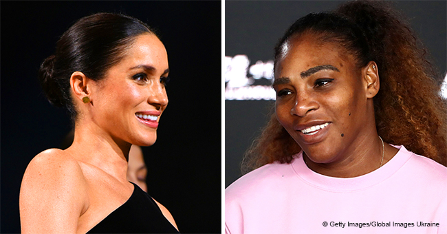 Serena Williams May Have Just Revealed the Gender of Her Good Friend Meghan Markle's Baby