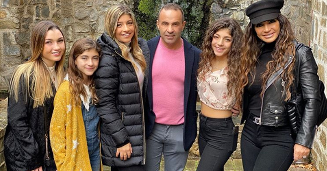 Joe Giudice of RHONJ Reunites with Wife Teresa and Their 4 Daughters in Italy