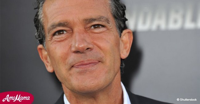 Antonio Banderas is dating a stunning woman who is almost half his age