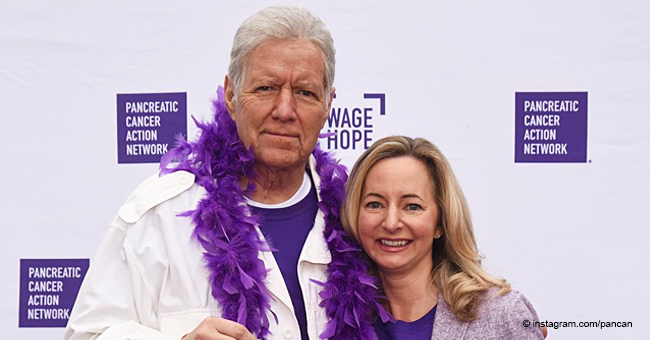 Alex Trebek Delivers a Heartfelt Speech While Sharing the Stage with Cancer Survivors: 'There's Hope'