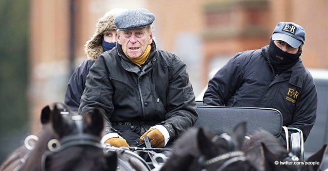 Prince Philip Spotted Driving a Horse Carriage Alone 2 Months after Involvement in a Car Crash
