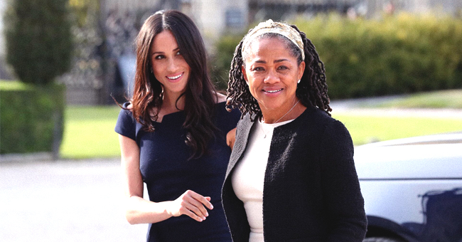 Meghan Markle's Mother Doria Ragland Looks 'Royal' at Archie's Christening