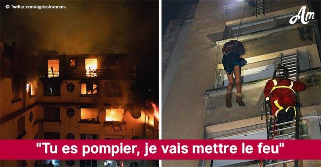 """""""Tu es pompier, je vais mettre le feu"""" : le combat qui a causé l'incendie à Paris et a fait 10 morts"""