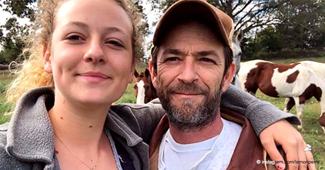 Luke Perry's Daughter Claps Back at People Who Criticized Her 'Grieving Process'