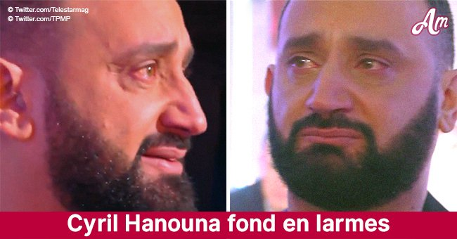 Cyril Hanouna a éclaté en larmes à l'antenne en recevant un cadeau précieux de ses fans