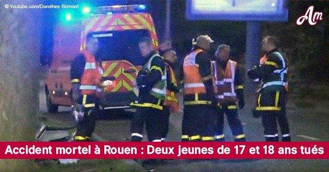 Un accident mortel à Rouen: deux jeunes de 17 et 18 ans sont morts tragiquement, trois autres ont été blessés