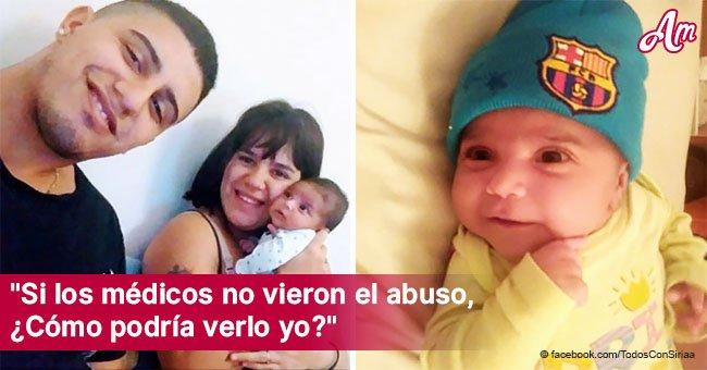Madre del bebé golpeado por su padre insiste en que no sabía sobre el supuesto maltrato