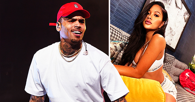Chris Brown's Rumored Ex Ammika Harris Has Fans Wondering If She's Pregnant as She Appears to Hide Belly in a New Pic