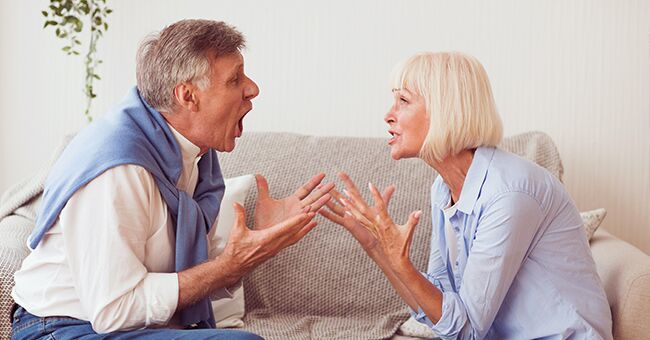 Daily Joke: An Old Married Couple Hate Each Other