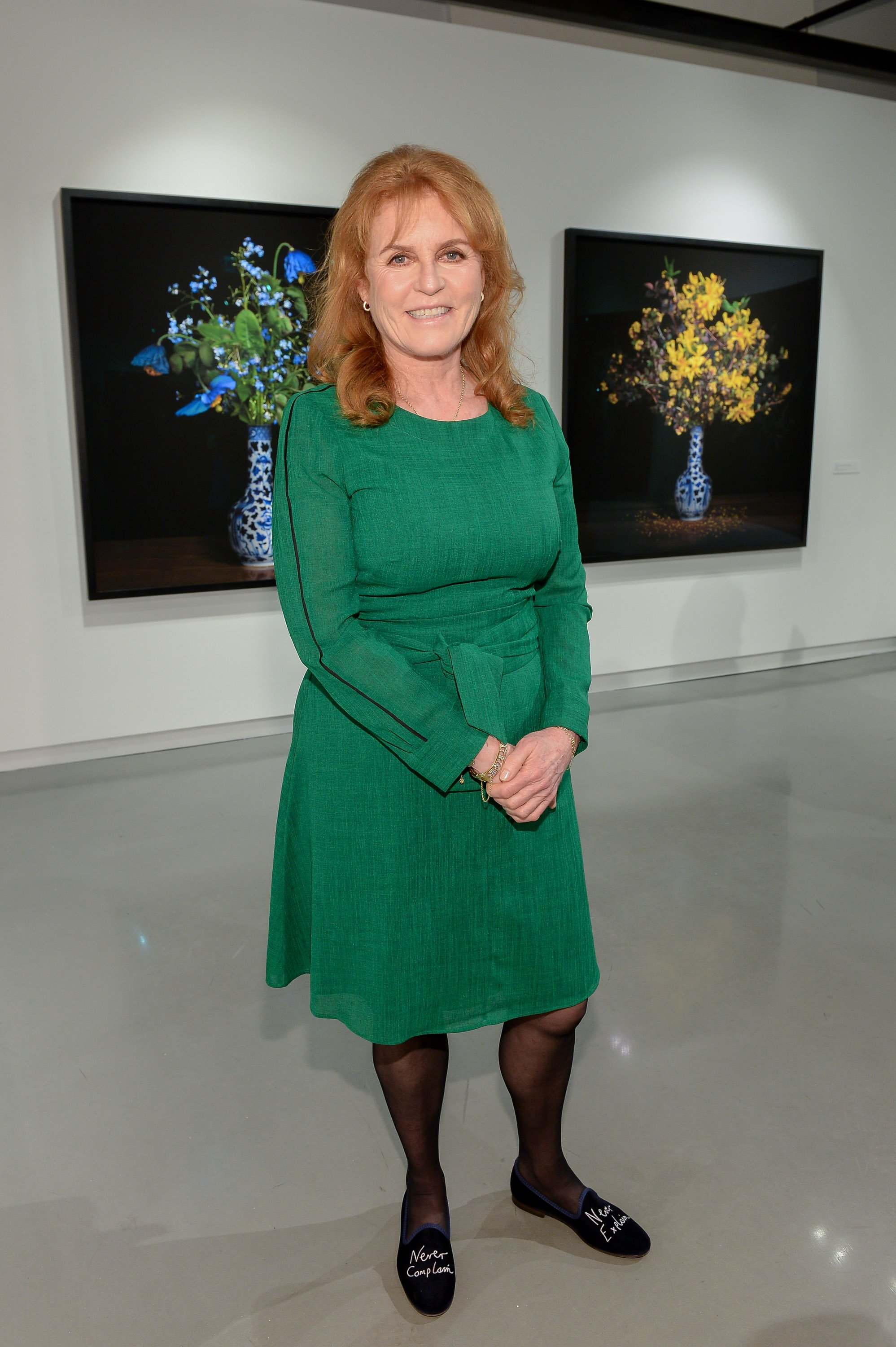 Sarah Ferguson visits the Onsite Gallery in Toronto on Wednesday, May 8, 2019 | Photo: Getty Images
