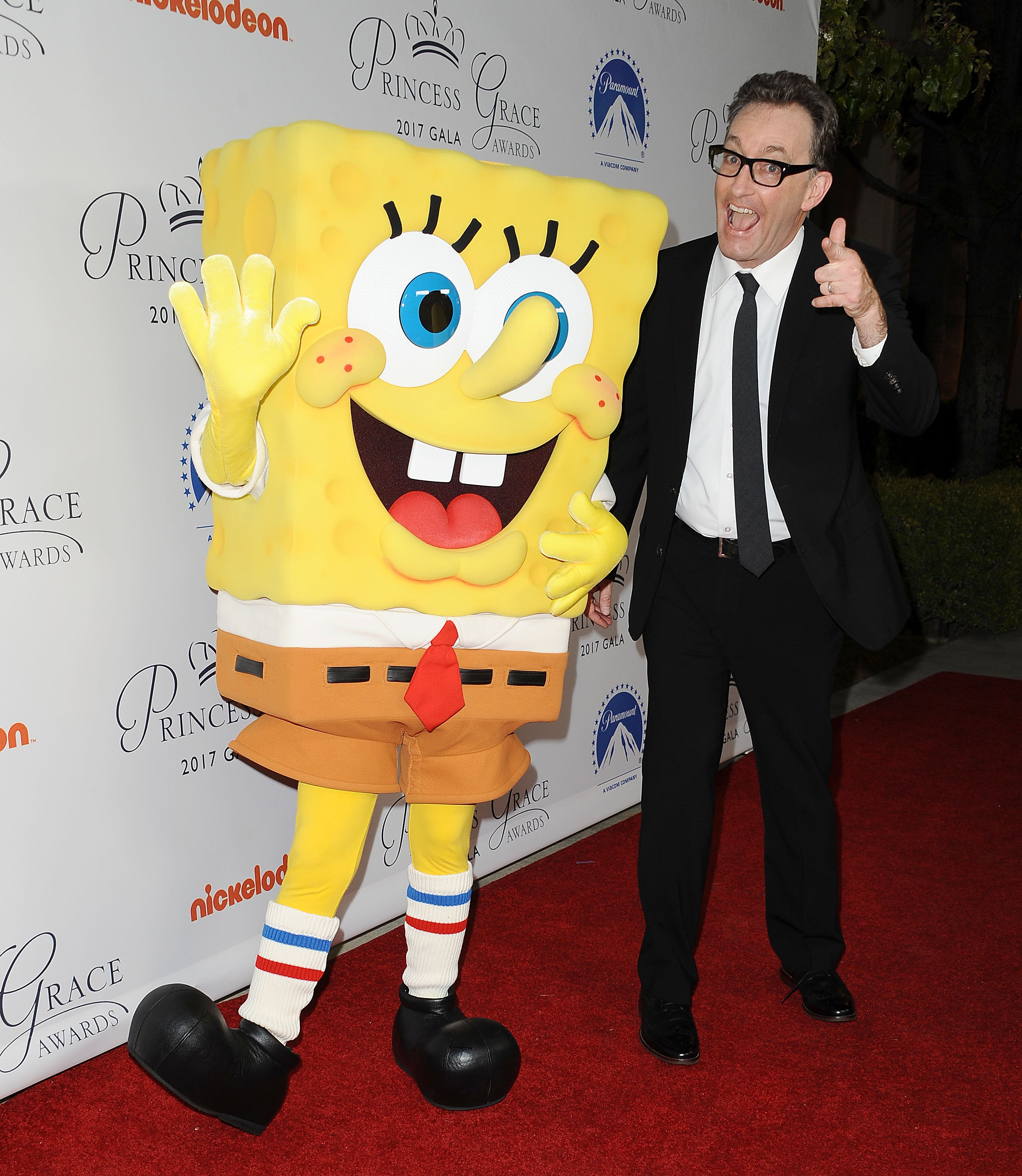 Tom Kenny attends the 2017 Princess Grace Awards gala kick off event at Paramount Pictures on October 24, 2017 in Los Angeles, California | Photo: GettyImages