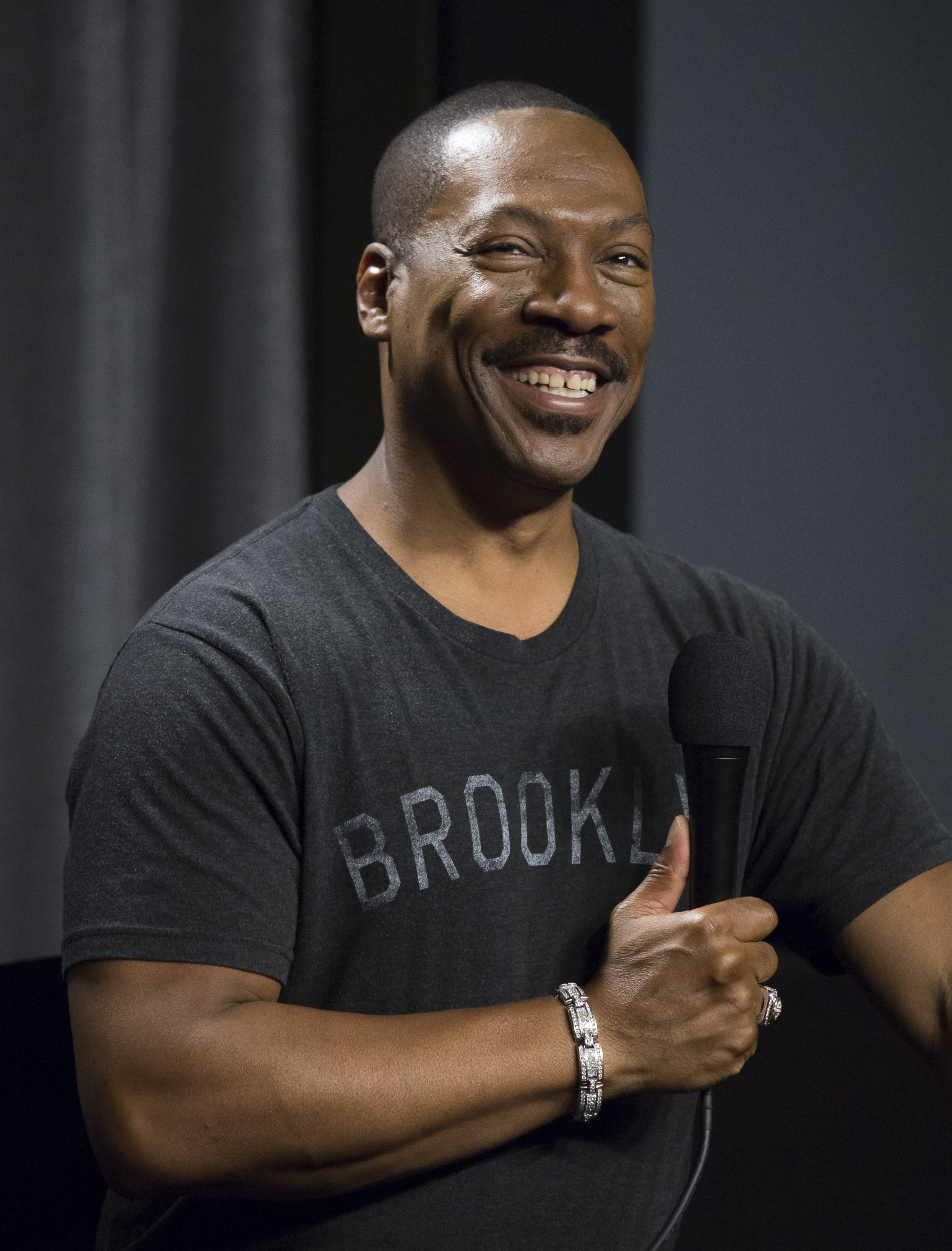 """Eddie Murphy at SAG-AFTRA Foundation's Conversations with """"Mr. Church"""" at SAG Foundation Actors Center on November 15, 2016 in Los Angeles, California 