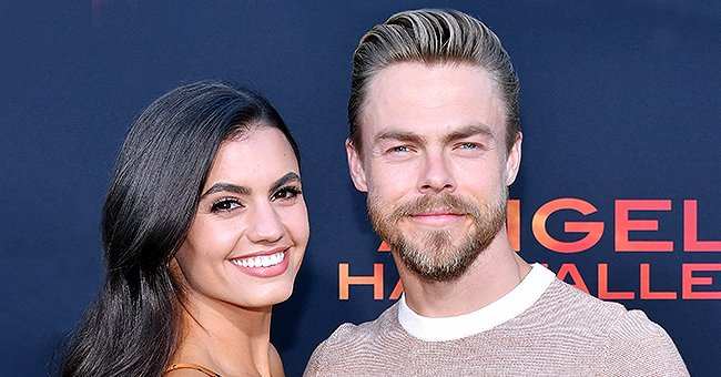 Derek Hough Tries to Dance for Girlfriend Hayley Erbert While Dressed in Hospital Gown as He Recovers from Emergency Appendix Surgery