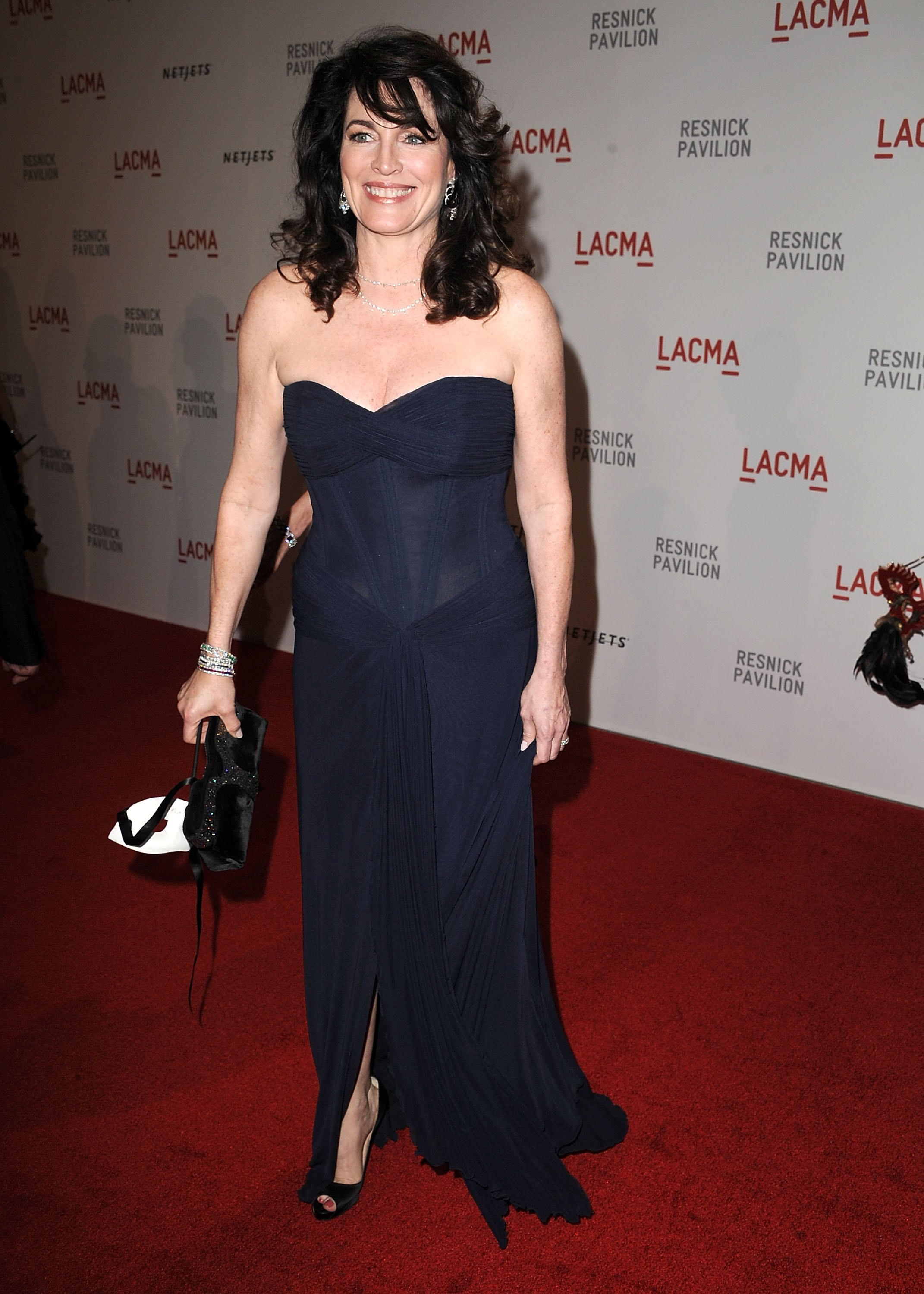 "Cynthia Sikes attends the LACMA Presents ""Unmasking"": The Lynda & Stewart Resnick Exhibition Gala at LACMA on September 25, 2010 