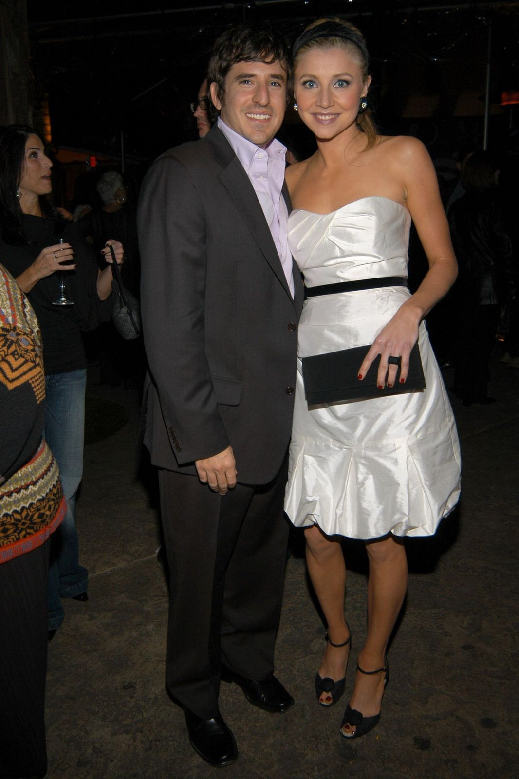 """Jamie Afifi and Sarah Chalke at""""Scrubs"""" Stars to celebrate the show's 100th episodeon January 14, 2006, in Los Angeles, California 