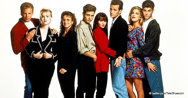 """Beverly Hills 90210"" Revival will commemorate Luke Perry."