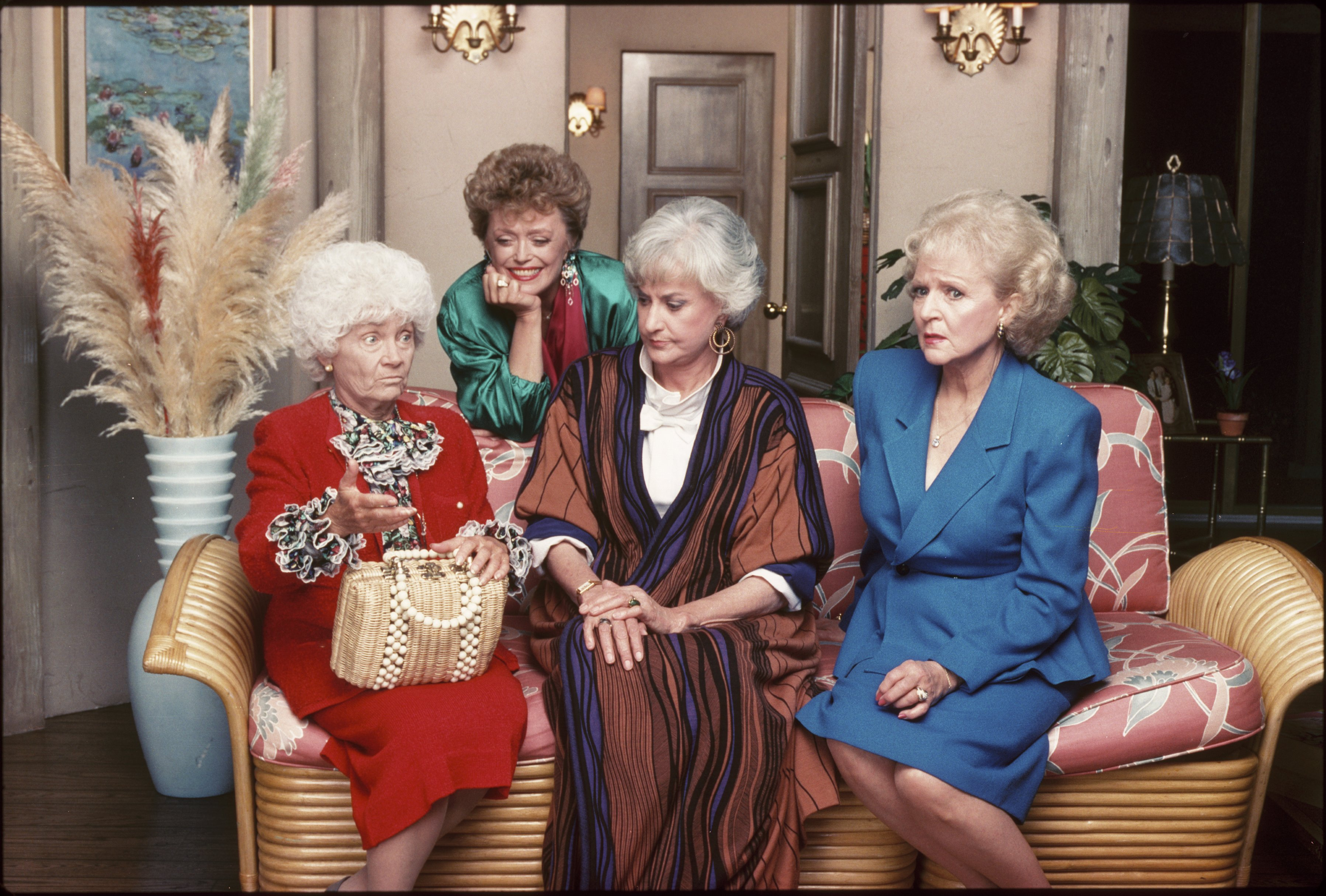 Rue McClanahan, Estelle Getty, Bea Arthur y Betty White. | Foto: Getty Images
