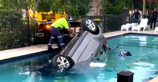 Teenager Goes Viral For Drowning a Car in a Backyard Pool