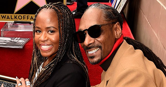 Snoop Dogg Shares a Sweet Throwback Photo with His Wife in Matching Outfits at a Movie Premiere