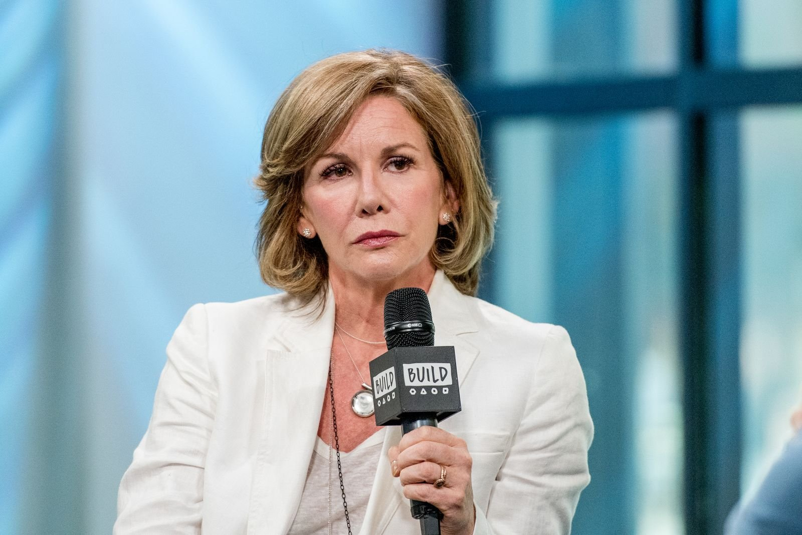 """Melissa Gilbert discusses """"If Only"""" with the Build Series at Build Studio on August 14, 2017, in New York City 