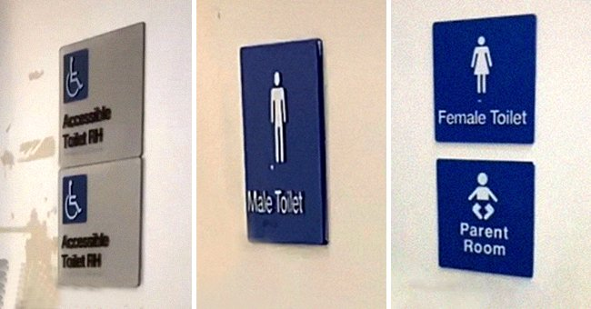 Mom Finds Sexism in the Placement of Parents' Room Signs at Establishments