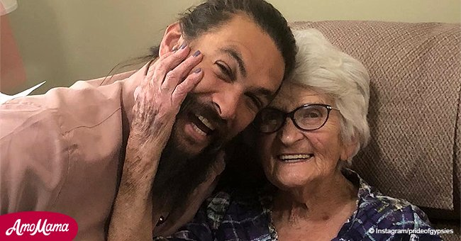 Jason Momoa's visit with his lovely grandmother will make your heart melt
