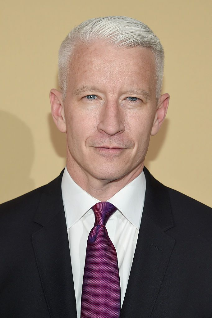 Anderson Cooper at the CNN Heroes 2015 - Red Carpet ceremony at American Museum of Natural History on November 17, 2015 in New York City | Photo: Getty Images