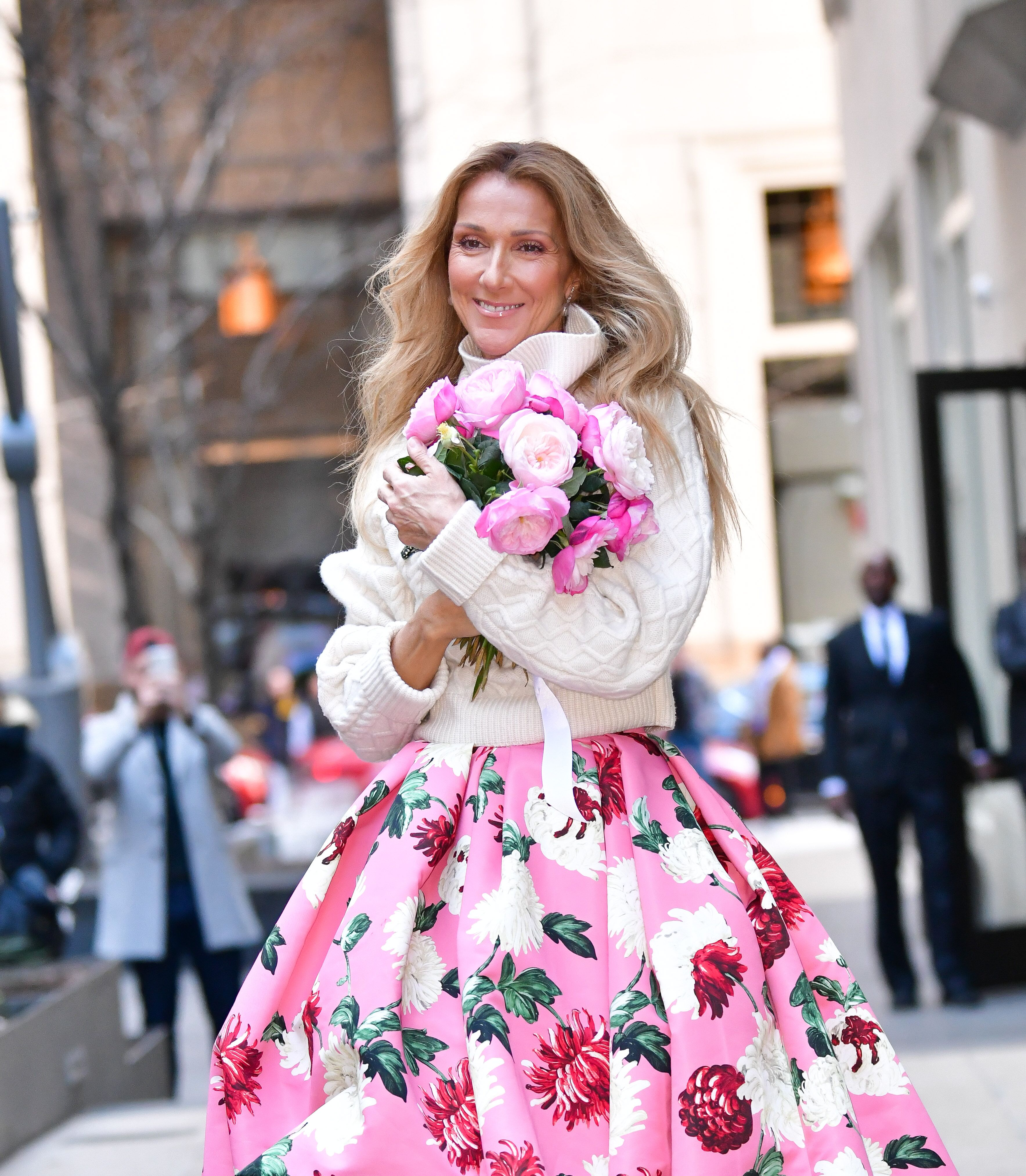 Celine Dion seen on the streets of Lower Manhattan on March 8, 2020 | Photo: Getty Images