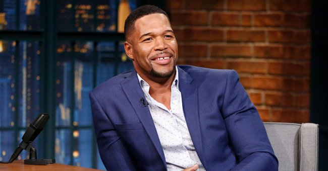 Michael Strahan's Daughter Tanita Stuns in New Pic Showing Her Chest Tattoo & Natural Afro Hair