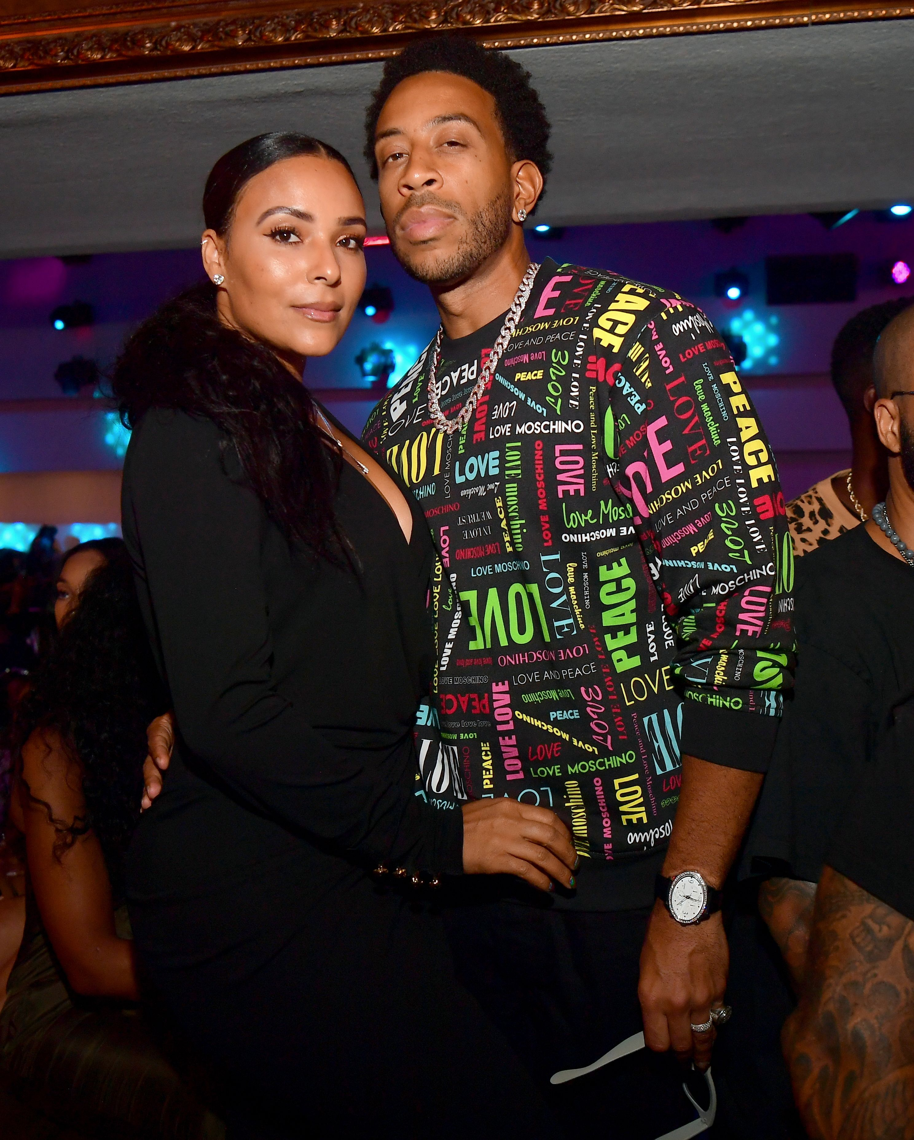 Ludacris and Eudoxie Bridges attend the Jeezy TM-104 album release party in September 2019 | Photo: Getty Images