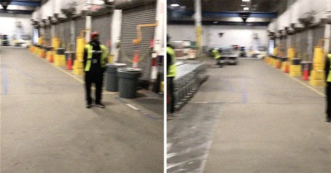 In a viral TikTok video an Amazon employee pans one of their warehouses and claims that everyone has quit   Photo: TikTok/dominic_giannini